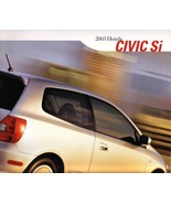 2003 Honda CIVIC Si sales brochure catalog 03 US hatchback - $9.00