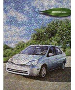 2002 Toyota PRIUS HYBRID sales brochure catalog 02 US - $10.00