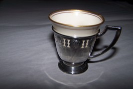 Lenox Sterling Cream Porcelain Demitasse  Coffe... - $129.99