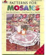 MOSAICS Book ~Patterns for Mosiacs - $7.00