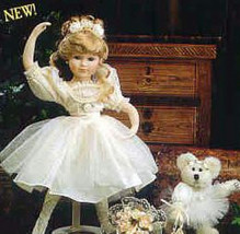 "Boyds Yesterdays Child ""Melissa.. The Ballet""-  #4914 -16"" Doll- 1999- Retired - $49.99"