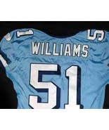 UNC Tarheel GAME WORN FOOTBALL JERSEY Sz 52 SEA... - $199.00