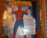 SPIDERMAN Boy Costume MEDIUM Spider-Man Marvel Comic Disguise Halloween Outfit