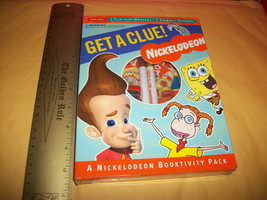 Jimmy Neutron Activity Kit Book Spongebob Get A Clue Booktivity Craft Se... - $9.49