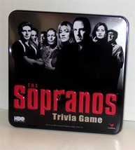 HBO's The Sopranos Trivia Board Game ~ Collectible Tin ~ Cardinal ~ 2004 ~ NIB - $19.92