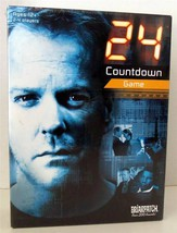 24 COUNTDOWN Board Game-War on Terror Game-TV Jack Bauer-Factory Sealed-2006 - $27.92