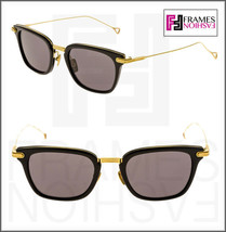 Dita Stateside 18K Gold Plated Black DRX2066 Titanium Sunglasses 2066 A-T-BLK - $376.20