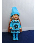 Crayola Crayon Color Kelly Doll Blue Collector Barbie Sister Walmart DEB... - $10.00