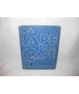 Ape In A Cape Fritz Eichenberg 1952 Alphabet Of Animals - $11.64
