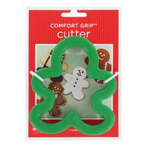 2 Wilton Gingerbread Boy Comfort Grip Cookie Cu... - $5.49