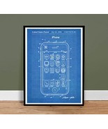 iPHONE POSTER US Patent Print Blueprint 18x24 Poster Apple Computer Stev... - $29.97