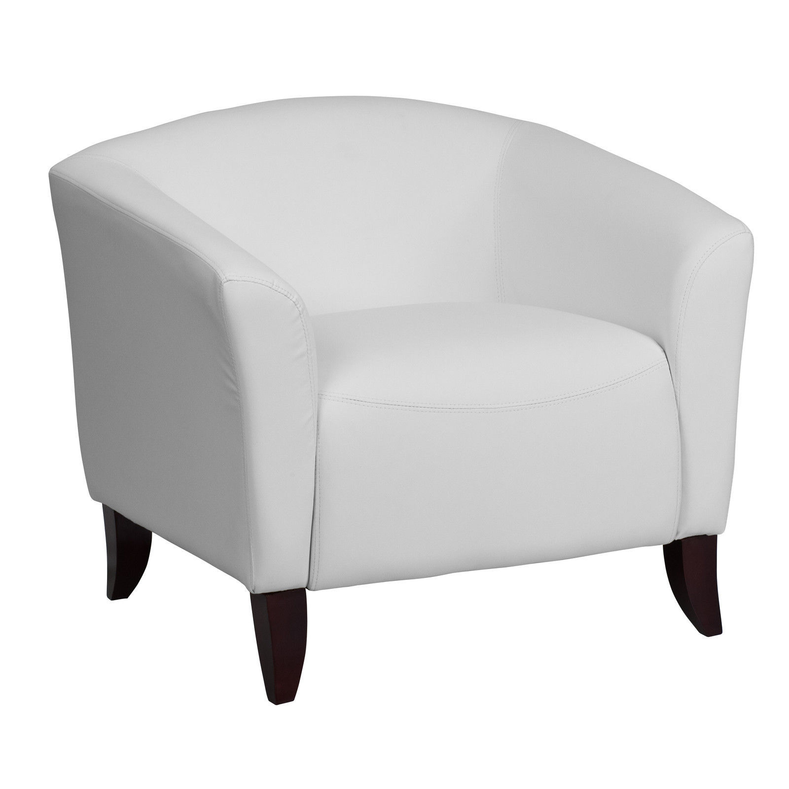 Office furniture imperial white leather chair 111 1 wh gg chairs