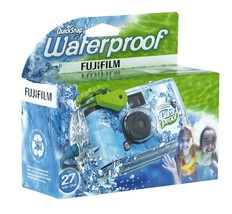 Fujifilm Disposable QuickSnap Waterproof Pool U... - $14.99