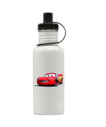 Cars Lightning McQueen Personalized Custom Water Bottle, Add Childs Name - $19.99