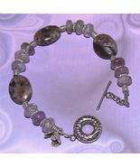 Sterling Silver Charoite Bracelet - $50.00