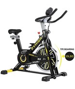 PYHIGH Indoor Cycling Bike Belt Drive Stationary Bicycle Exercise Bikes ... - $289.28