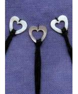 Heart Mother of Pearl Thread Rings by Kelmscott... - $8.55