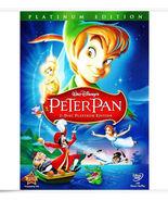 Peter Pan (DVD, 2007, 2-Disc Set, Platinum Edition) - $12.49