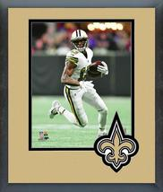 Michael Thomas 2017 New Orleans Saints -11x14 Team Logo Matted/Framed Photo - $43.55