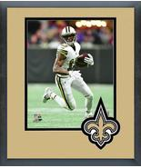 Michael Thomas 2017 New Orleans Saints -11x14 Team Logo Matted/Framed Photo - $43.55