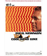 Cool Hand Luke Poster 27x40 inches Paul Newman 1967 Psychedelic 69x101 cms - $34.99