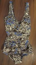 Ceeb One Piece Women's Floral Print Swimwear/Swimsuit Size: 10