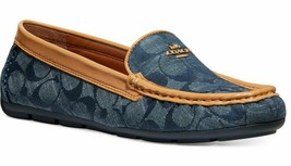 Coach Marley Driver Loafers Shoes Size 5.5 Chambray  - $118.79