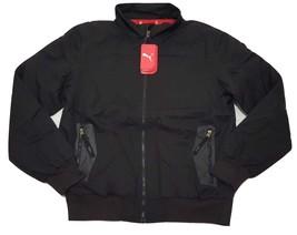 Puma Mens Casual Jacket Full Zip Winter Coat 549305-01 Black - $48.89