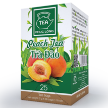 03 Boxes ( 1 box 25 packs) - Peach Tea Bag - Tra Dao Tui Loc - Phuc Long - $39.59