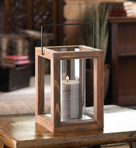10 Wood Lantern Square Candleholder Wedding Centerpieces - $128.77