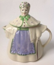 Vintage Shawnee Granny Ann Ceramic Tea Pot USA Patented Unsigned - $59.95