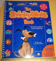 Klutz Craft Kit Book Shrinky Dinks Set Plastic Shrink Art Activity Set Materials - $12.34