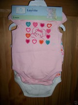 Small Wonders Baby Clothes 0M-3M Newborn Girl Shorts Outfit Pink Bodysui... - $9.49