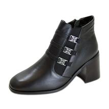 PEERAGE Jolene Women's Wide Width Leather Dress Booties - $39.95