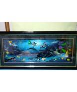 WYLAND Prints Disney Dive Buddies Picture Art Mickey Serial No. Hotel Mi... - $5,461.83