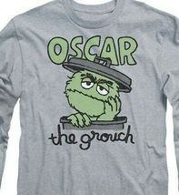 Sesame Street Oscar the Grouch T-shirt Retro 60s 70s educational TV SST118 image 3