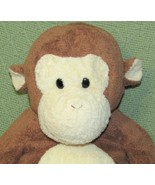 "Ty Pluffies DANGLES the MONKEY 15"" LARGE Chimp 2004 BEAD EYES Baby Plush Animal - $19.64"
