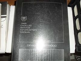1986 Cadillac Deville Fleetwood Reparatur Service Shop Manuell Final Edi... - $10.06