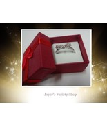 100% Sterling Silver 925 Sparkling Bow Ring Women's Many Sizes NIB - $11.99