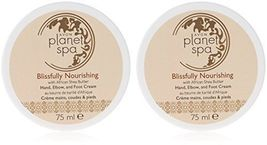 2 x Avon Planet Spa Blissfully Nourishing Shea Butter Hand, Elbow and Fo... - $14.99