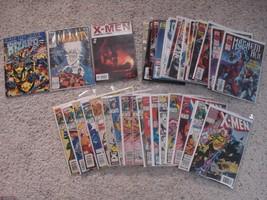 X-men X title Marvel comic book lot of 38 Magneto Colossus Ice Man Gambi... - $34.65