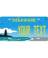 Delaware Light License Plate Personalized Custom Auto Bike Motorcycle Moped Tag - $10.40 - $16.34