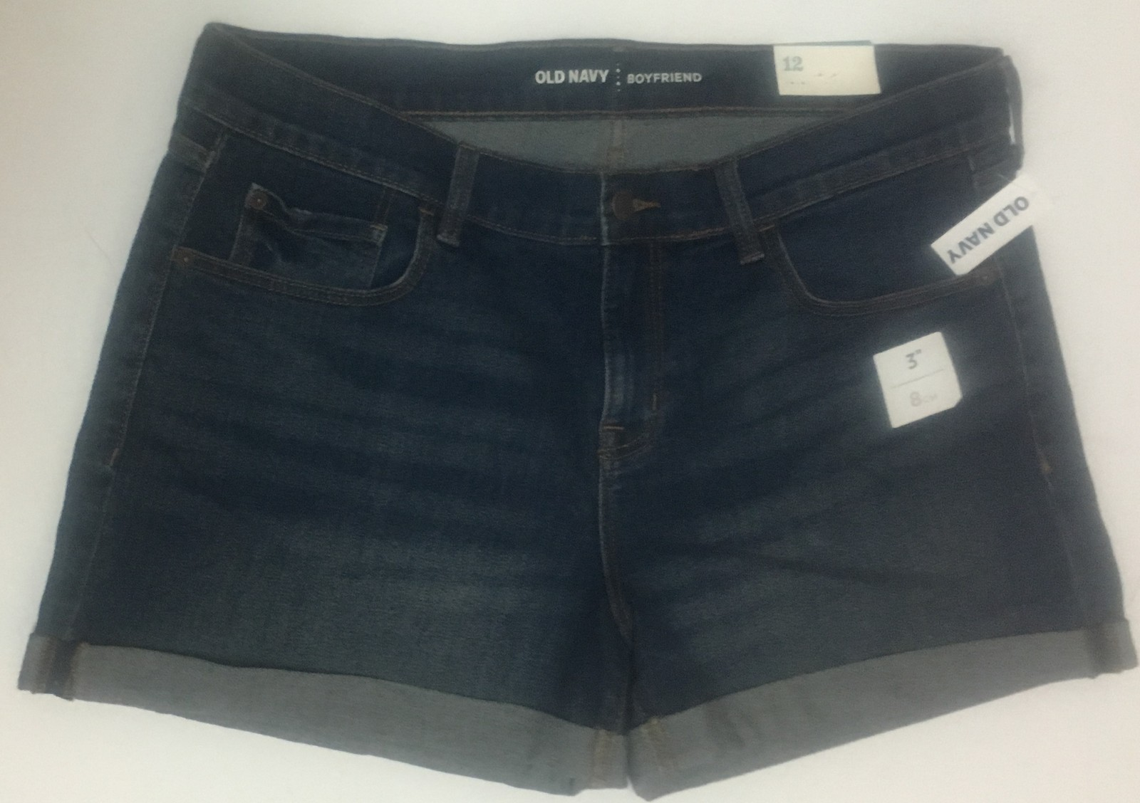 Old Navy Boyfriend Blue Jean Shorts Sz 12