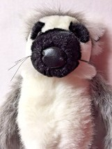 Wild Republic Ring Tailed Lemur Plush Stuffed Animal Toy Cuddlekins Super Soft - $19.75