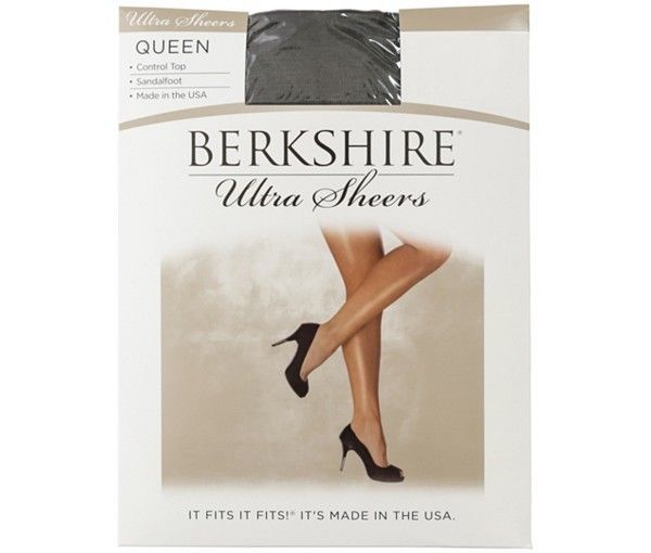 Primary image for New Berkshire Women's Plus-Size Queen Ultra Sheer Control Top Pantyhose 4411