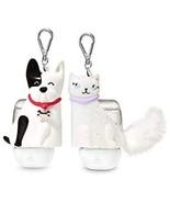 Bath & Body Works Companions Dog Cat Pocketbac Hand Sanitizer Gel Holders - $18.47