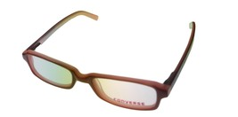 Converse Mens Ophthalmic Soft Rectangle Plastic Frame Scribbles Brown  - $35.99