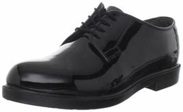 Bates  00742 Women's High Gloss DuraShocks Oxford Black  Size 6.5 N - $59.39