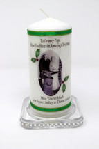 "Personalised 6""  Photo Candle Christmas Gift Grandparents  ! Cellini Can... - $21.57"