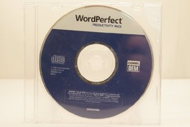 Corel WordPerfect Productivity OEM PC Computer Software Program 2004 With Key Co - $27.99